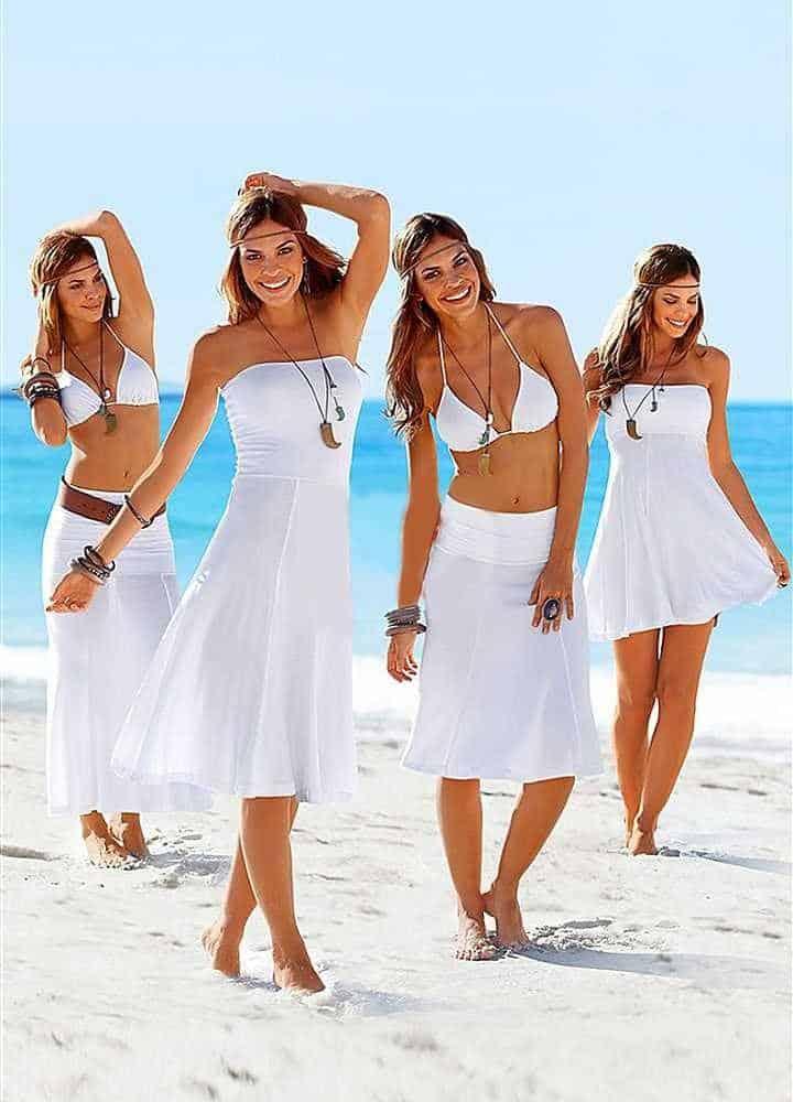 best beach clothes for women, best swimming suits for women, beach travel gear, beach vacation essentials, beach travel