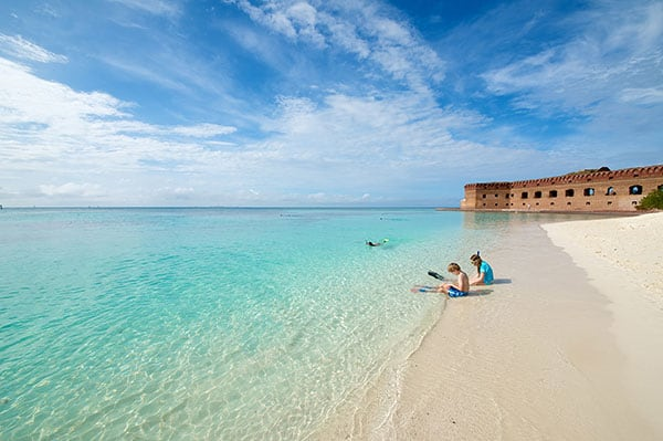 Dry Tortugas Beach Florida The Best Beaches In World
