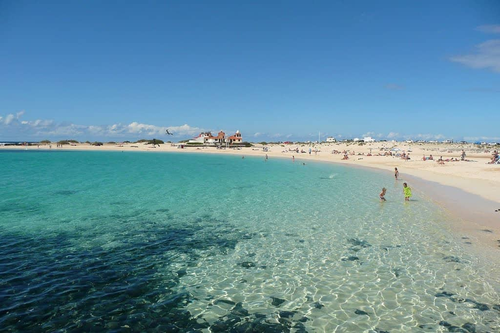 El Cotillo Beach, Corralejo Fuerteventura Canary Islands, Fuerteventura beaches, Hotel Cotillo Beach