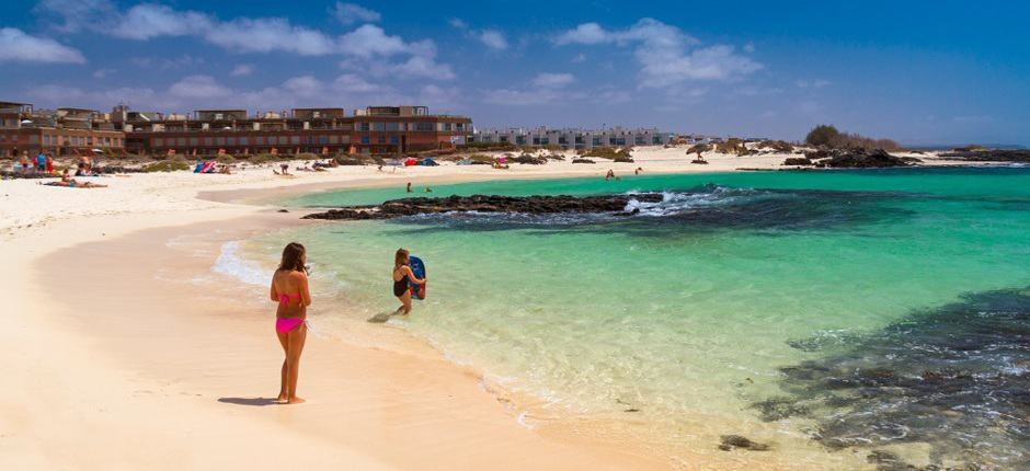 La Concha, Corralejo Fuerteventura Canary Islands, Fuerteventura beaches, Gran Hotel Atlantis Bahia Real G.L..