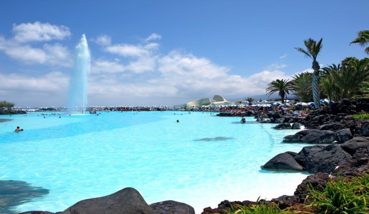 Lago Martiánez, Los Cristianos , Canary Islands, Best beachs of the Canary Islands