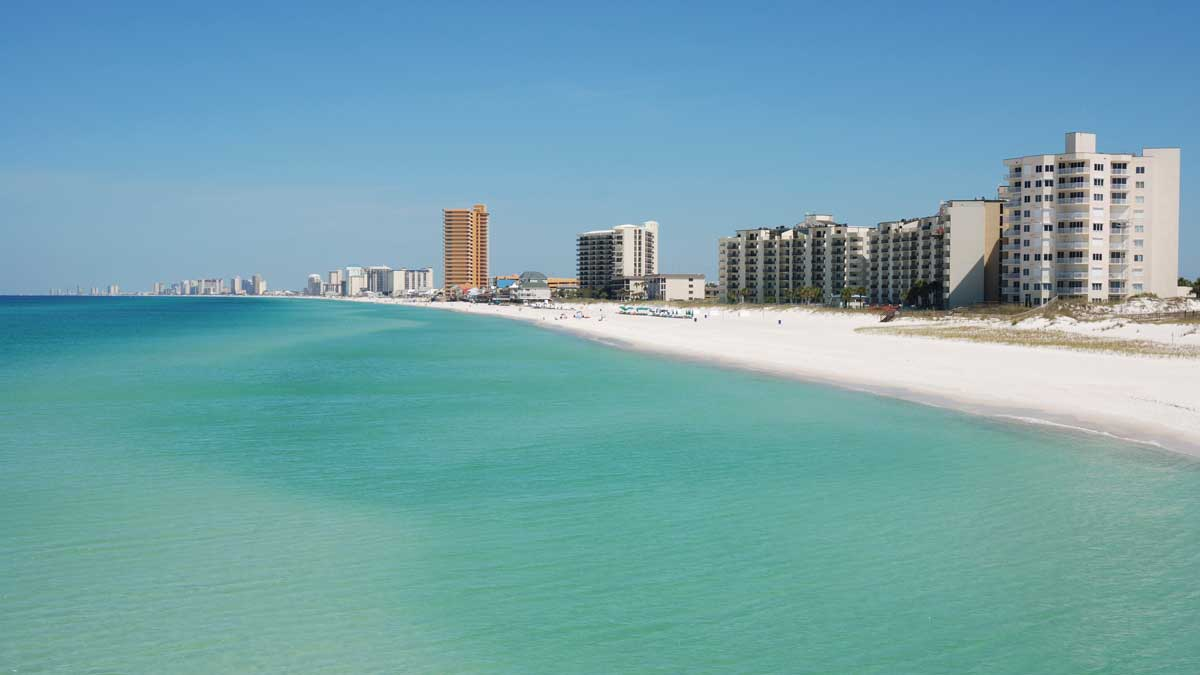 Panama City Beach, Florida, Emerald Coast Beaches
