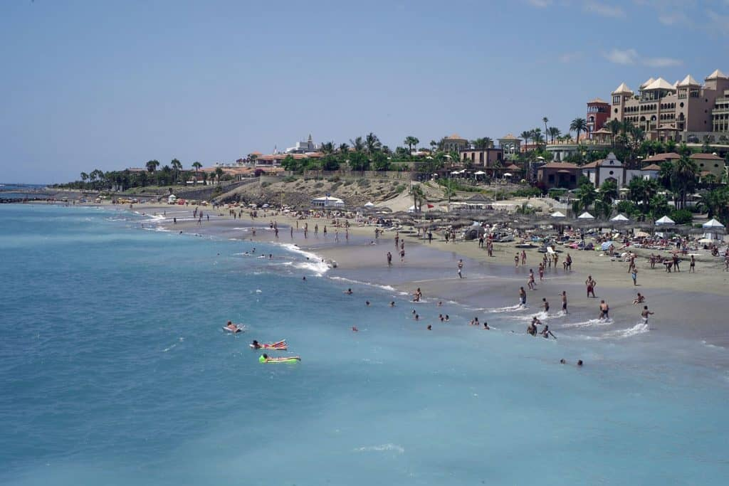 Playa Fañabé, Tenerife, Canary Islands, Best beaches of the Canary Islands