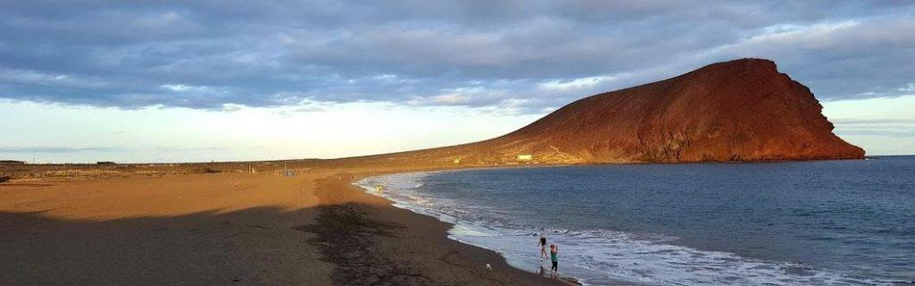 Playa de La Tejita, Los Cristianos, Canary Islands, best beaches of the Canary Islands