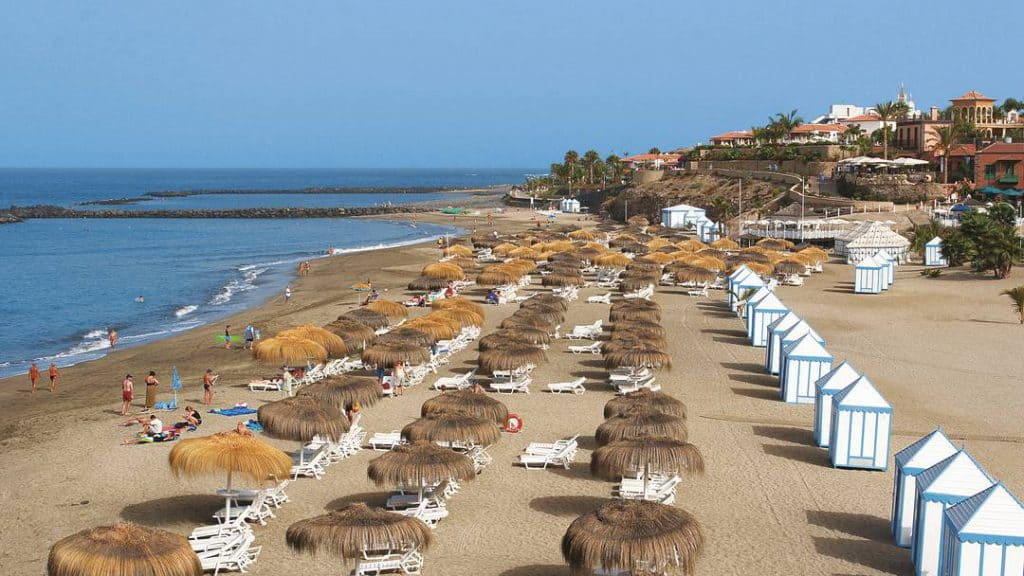 Playa del Duque, Los Cristianos , Canary Islands, best beaches of the Canary Islands