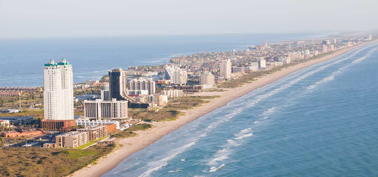 How Far Is Brownsville From Padre Island