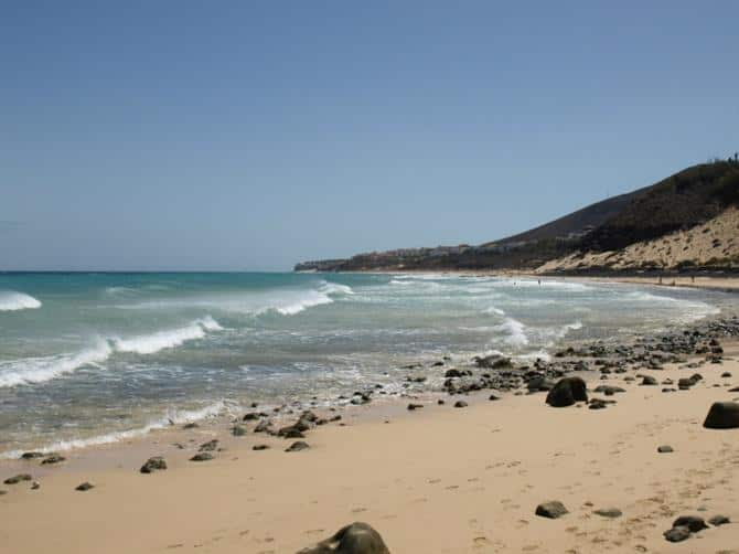Esquinzo, Morro Jable, Fuerteventura Canary Islands, Fuerteventura Beaches