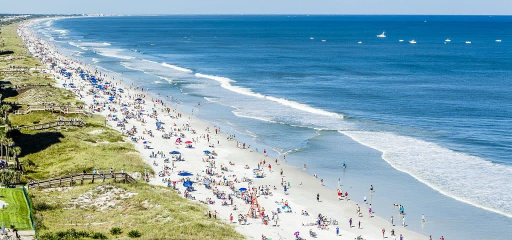 Jacksonville Beach Florida, Best beaches of Florida's East Coast, Jacksonville Beach beaches, Florida beaches, best beaches of Florida, best beaches of Jacksonville Beach, Jacksonville Beach Vacation Guide