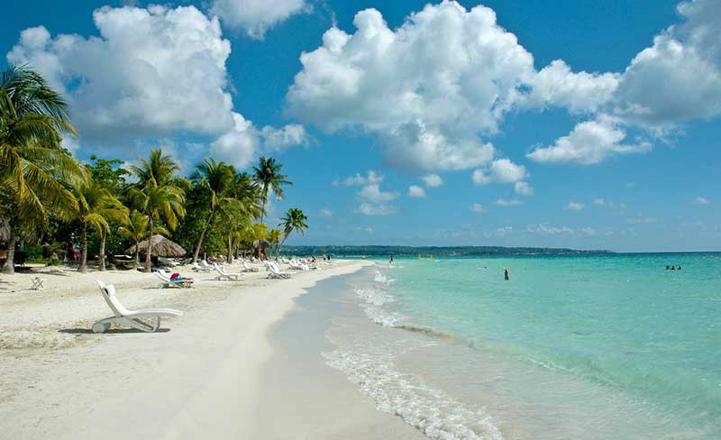 Seven Mile Beach, Jamaica, Cayman Islands, Jamaica beaches, best beaches of Jamaica, Greater Antilles beaches