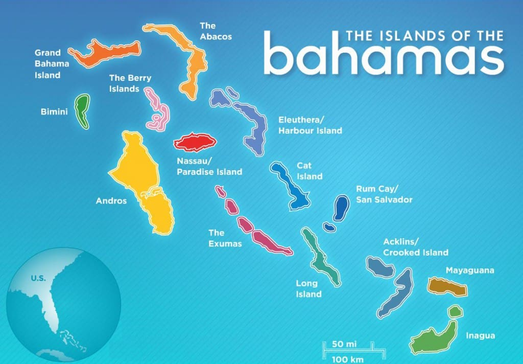 The Islands of the Bahamas, best beaches of the Bahamas, The Abacos, Grand Bahama Island, The Berry Islands, Bimini, Andros, Nassau, Harbour Island, Cat Island, The Exumas, Rum Cay/San Salvador, Acklins/Crooked Island, Long Island, Mayaguana, Inagua