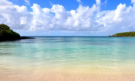Blue Beach, Puerto Rico, Puerto Rico beaches, best beaches of Puerto Rico, Greater Antilles beaches