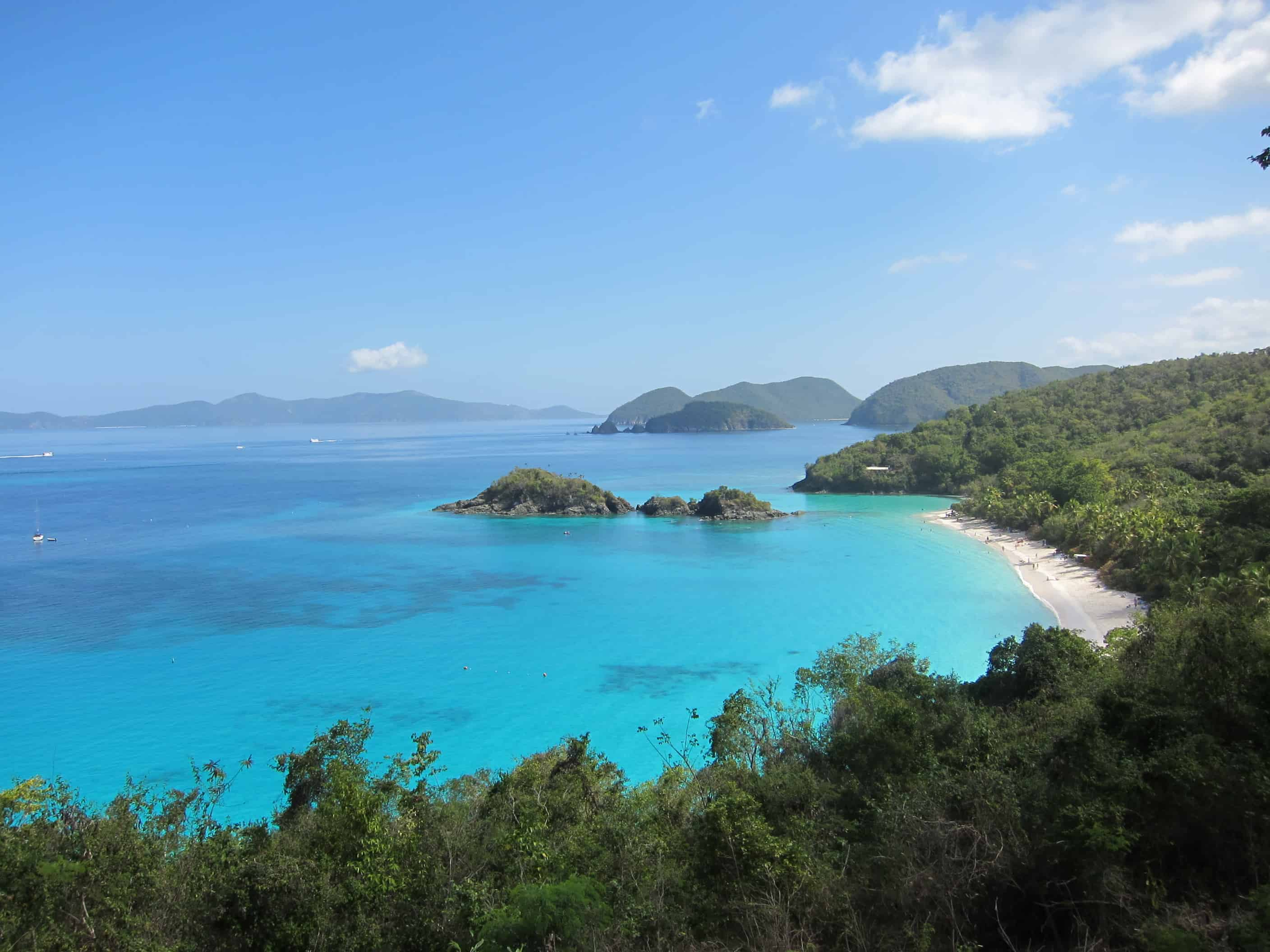 Cinammon bay st john virgin islands