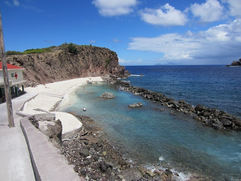 Cove Bay, Saba, best beaches of Saba, Leeward Islands, best beaches of the Leeward Islands, Lesser Antilles Vacations, Best beaches of the Lesser Antilles, best beaches in the Caribbean