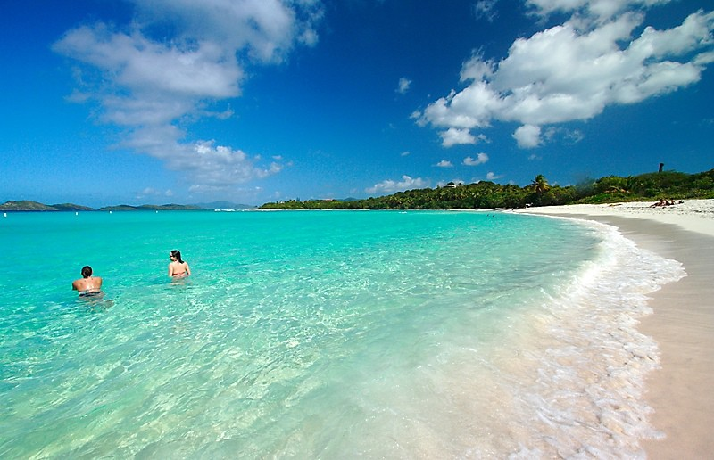 Lindquist Beach, St. Thomas, best beaches of St. Thomas, Leeward Islands, best beaches of the Leeward Islands, Lesser Antilles Vacations, Best beaches of the Lesser Antilles, best beaches in the Caribbean