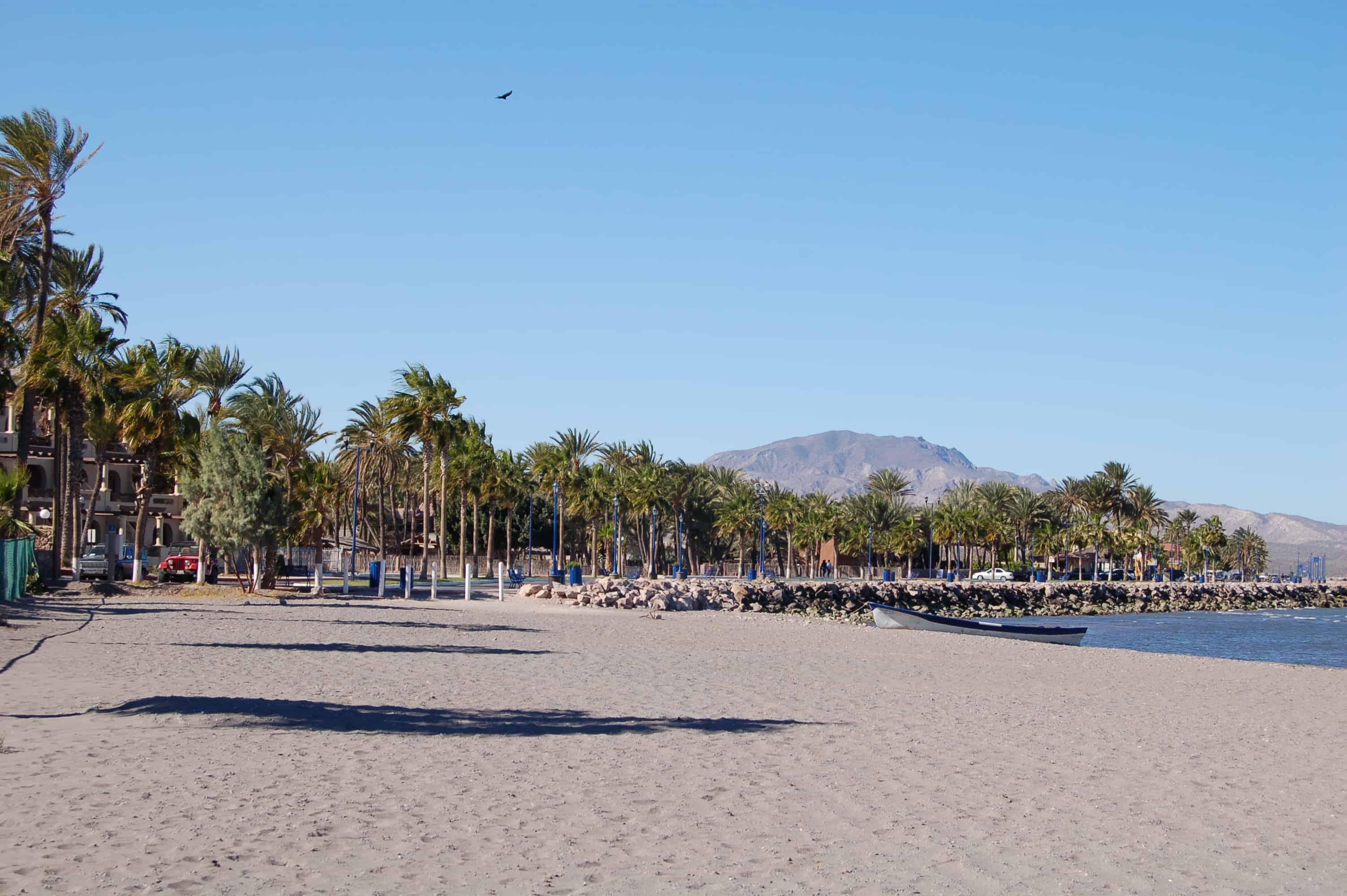 Main Beach, Loreto Baja California, Baja California, Sea of Cortez Beaches, Loreto beaches, Loreto travel, Loreto vacations, best Mexico beaches