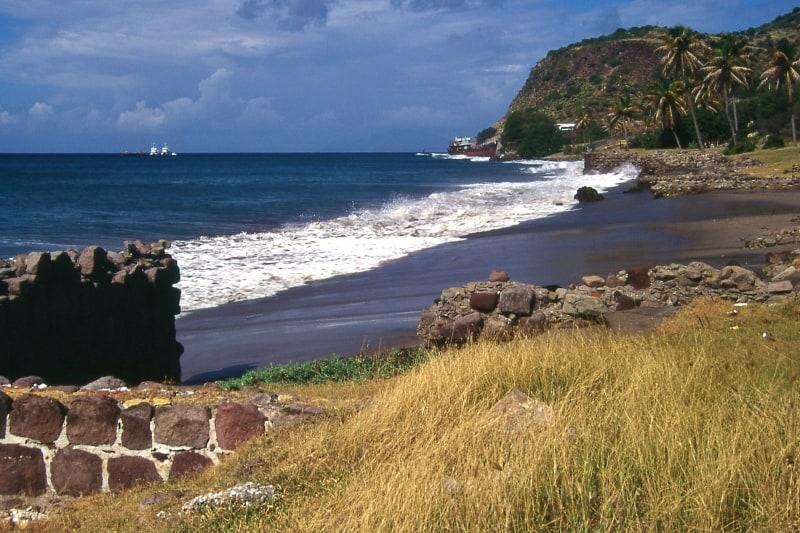 Oranje Beach, St. Eustatius, best beaches of St. Eustatius, Leeward Islands, best beaches of the Leeward Islands, Lesser Antilles Vacations, Best beaches of the Lesser Antilles, best beaches in the Caribbean
