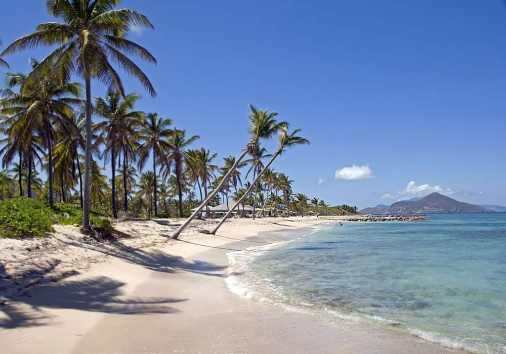 Pinney's Beach, Nevis, best beaches of Nevis, Leeward Islands, best beaches of the Leeward Islands, Lesser Antilles Vacations, Best beaches of the Lesser Antilles, best beaches in the Caribbean