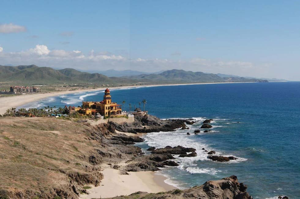 One Can Enjoy Some Of The Most Pristine Un Poted Beaches In Baja Vicinity Todos Santos Near Town Find For Camping Surfing