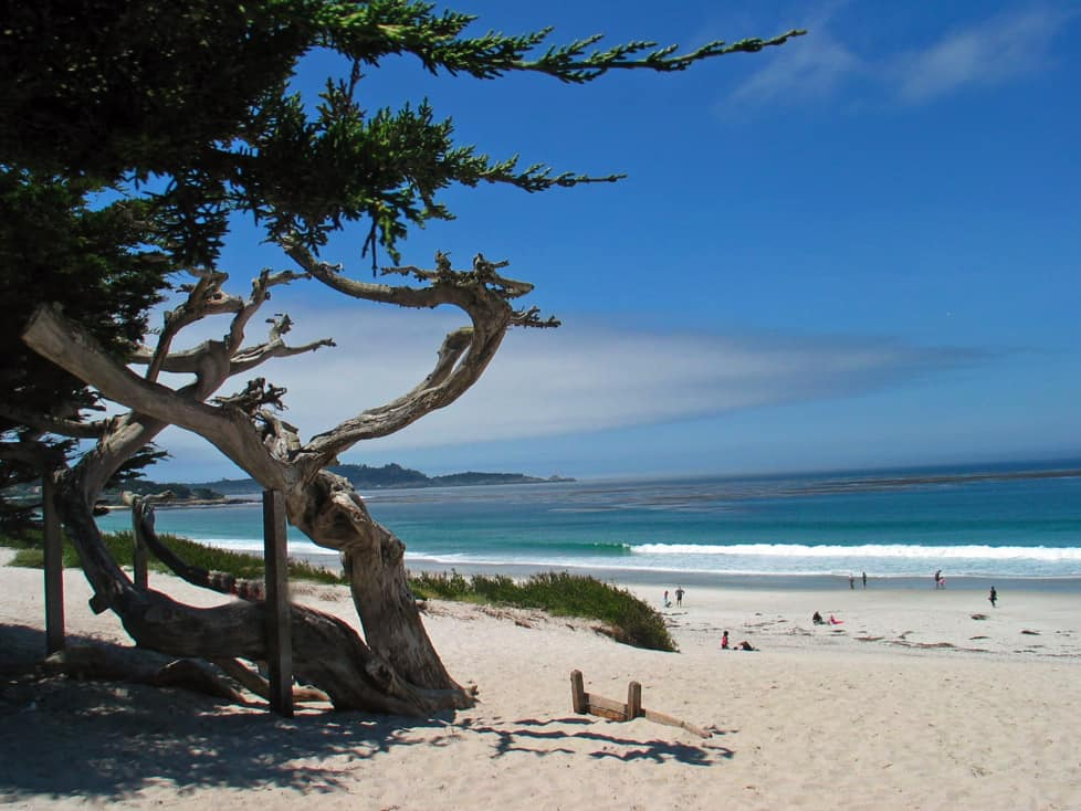 Carmel City Beach in Carmel