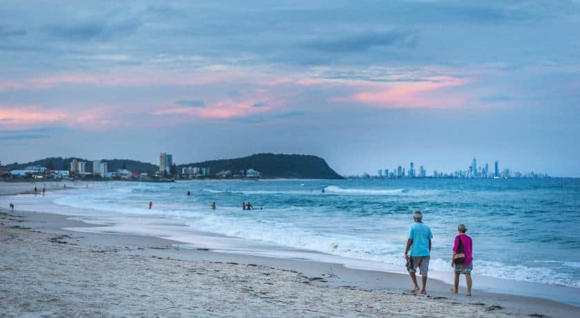 Currumbin Beach, Gold Coast Australia