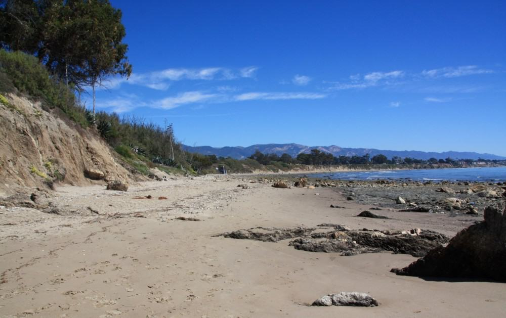 Devereux Beach, Isla Vista, Best Central California beaches, Santa Barbara County beaches