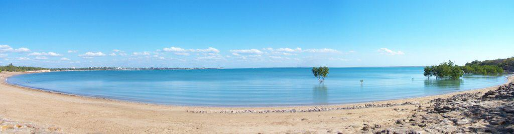 Fannie Bay Beach, Darwin Australia