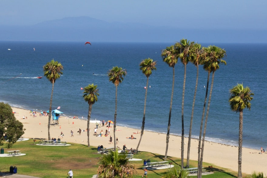 Leadbetter Beach, Best Central California beaches, Santa Barbara County beaches