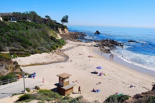 Little Corona Del Mar State Beach Little Arch Beach