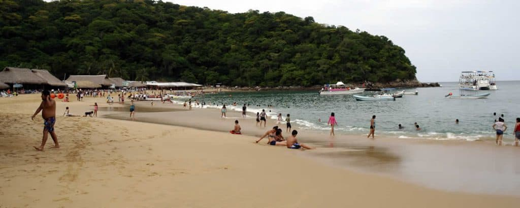 Maguey Bay, Huatulco, Mexican Riviera, Huatulco beaches, Mexican Riviera Beaches, best beaches of the Mexican Riviera