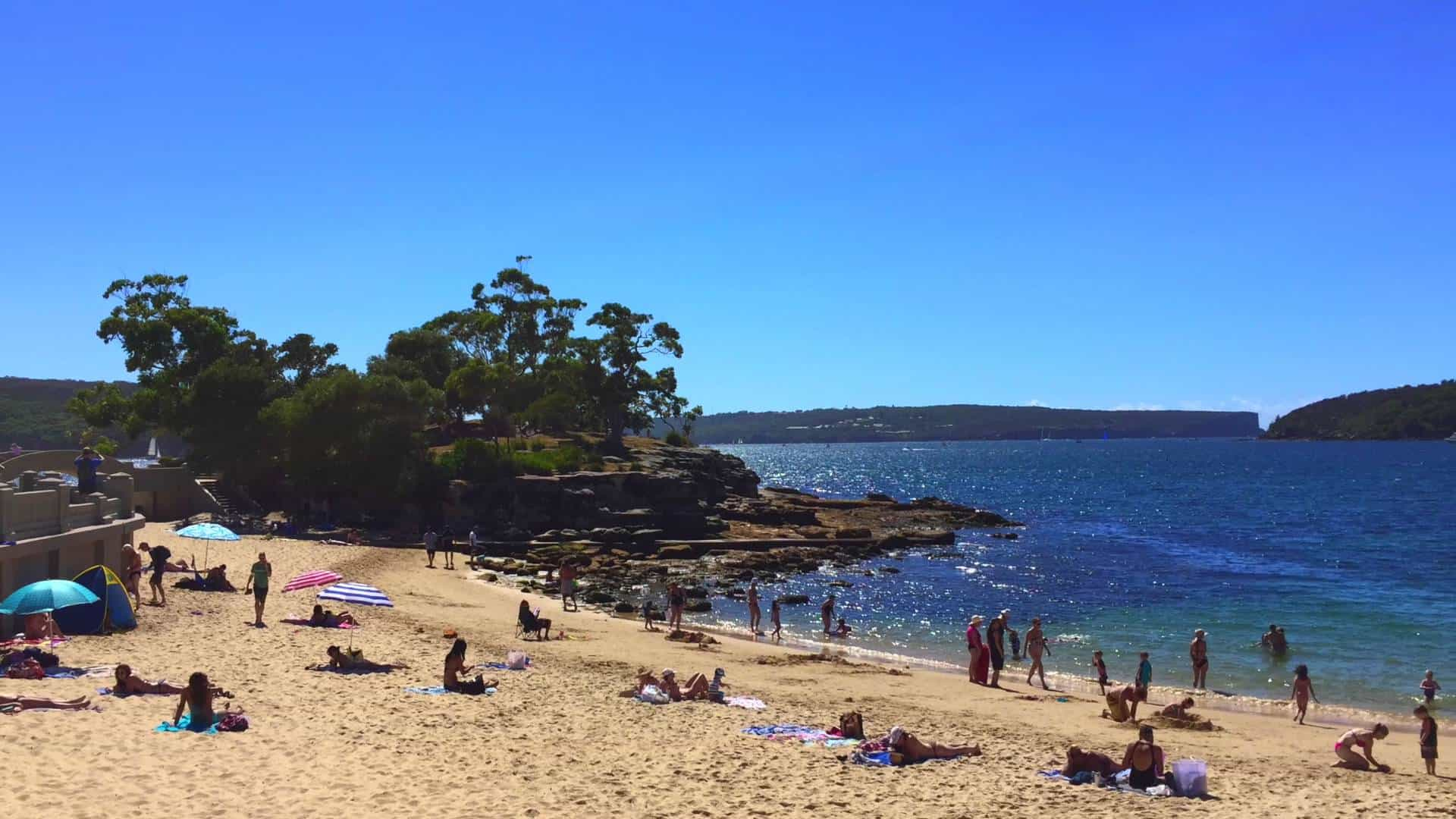 Balmoral Park Beach, Sydney Australia