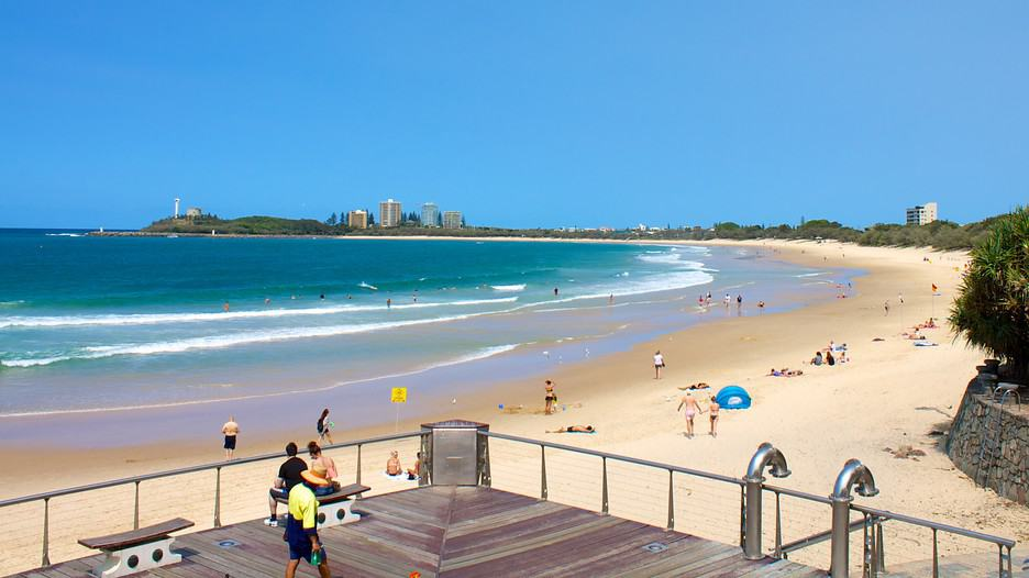 Mooloolaba Beach, Sunshine Coast Australia