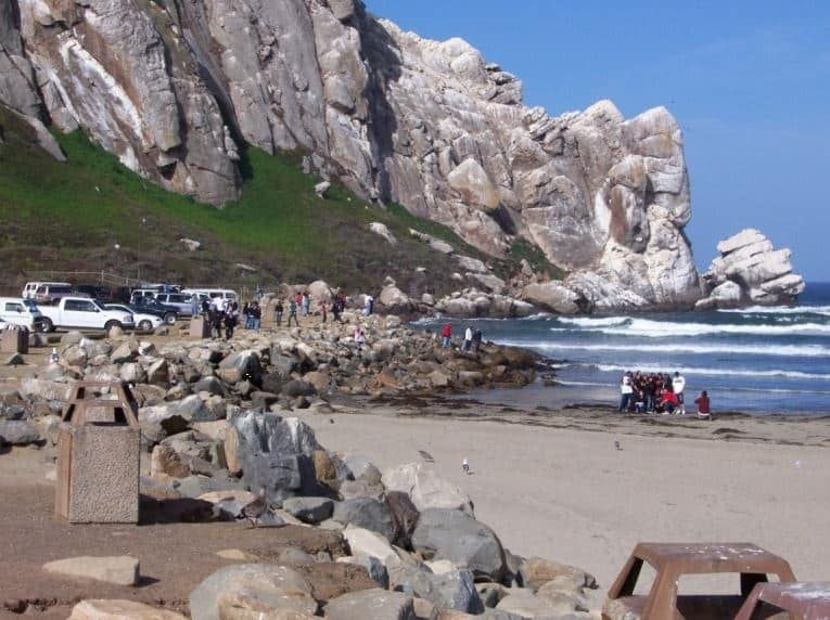 Morro Rock City Beach in Morro Bay