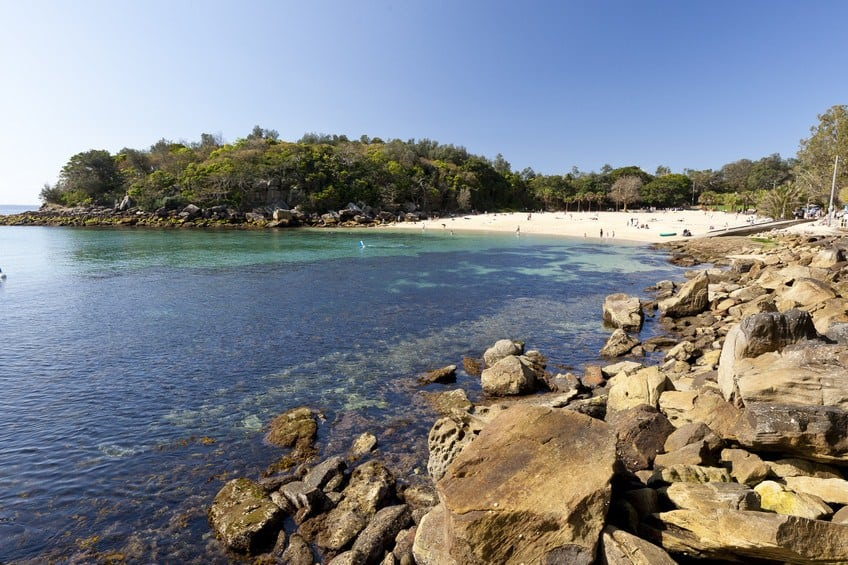Nielsen Park Beach Sydney Australia