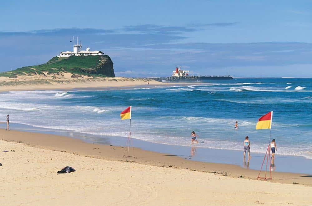 Nobbys Beach, Brisbane Australia