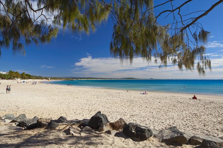 Noosa Beach, Brisbane Australia