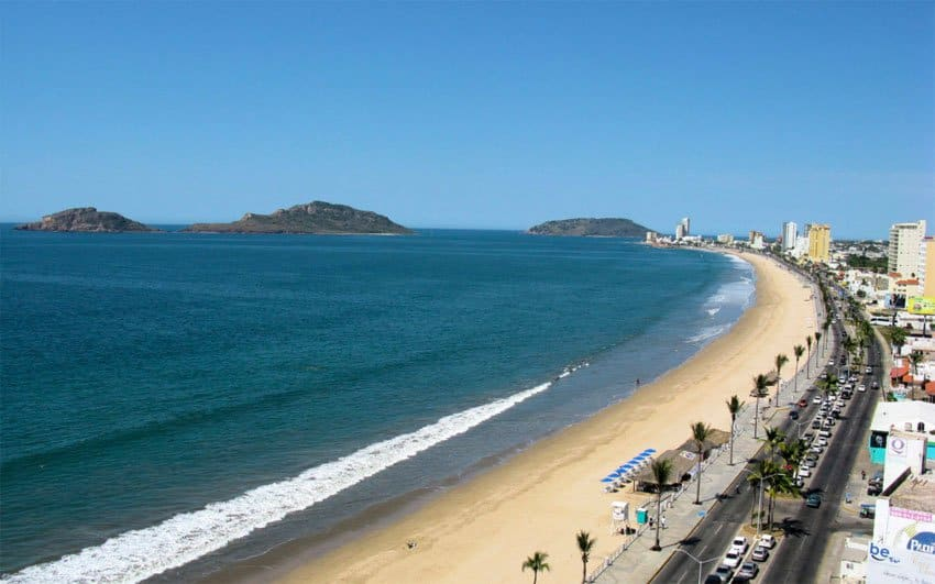 Playa las Gaviotas, Mazatlan, Mexican Riviera, Mazatlan beaches, Mexican Riviera Beaches, best beaches of the Mexican Riviera