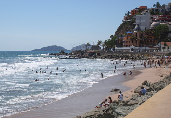 Playa Olas Altas, Mazatlan, Mexican Riviera, Mazatlan beaches, Mexican Riviera Beaches, best beaches of the Mexican Riviera