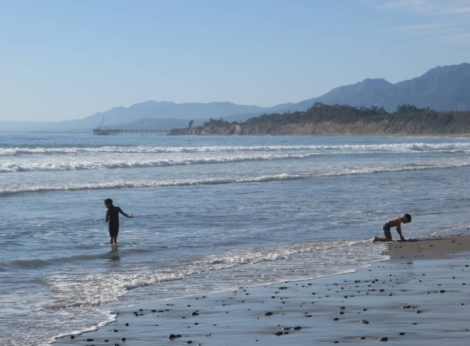 Rincon County Park Beach, Best Central California beaches, Santa Barbara County beaches