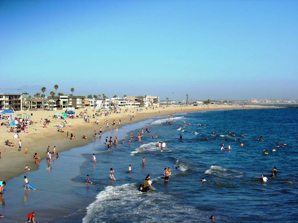 Best southern california beaches beach travel destinations for Seal beach fishing