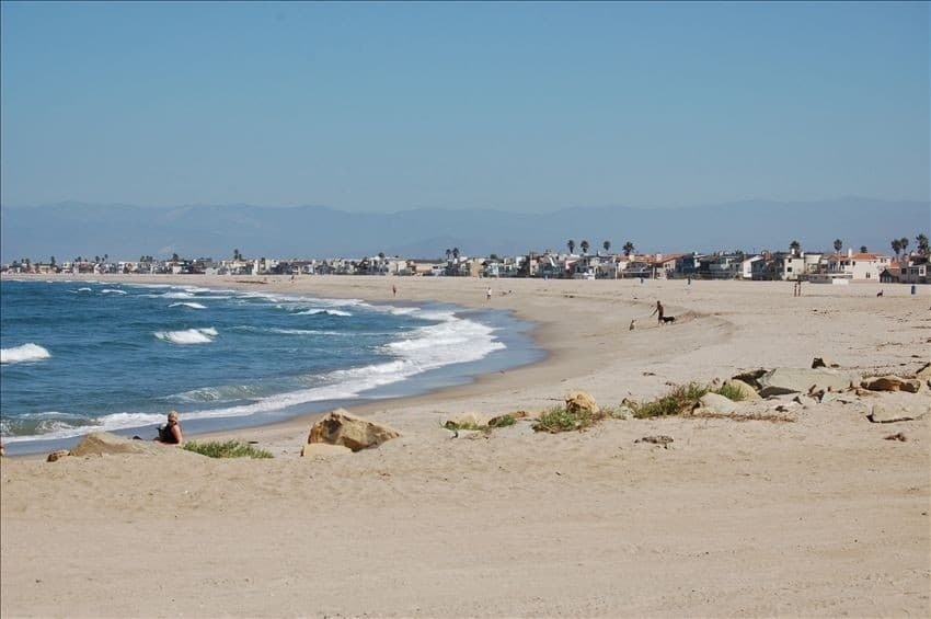 Silver Strand Beach in Oxnard, Best Central California beaches, Ventura County beaches