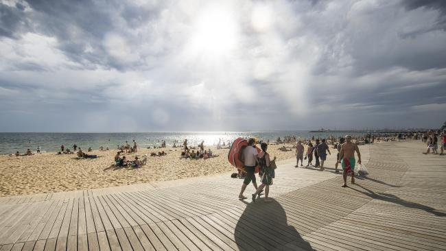 St. Kilda Beach, Melbourne Australia