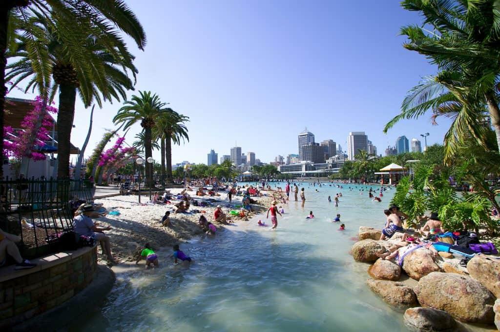 Streets Beach, Brisbane Australia
