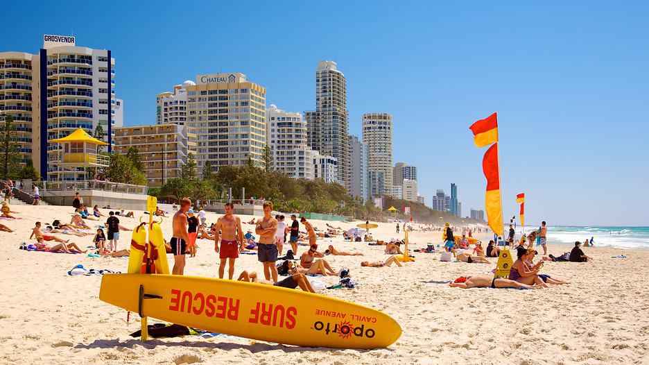 Surfers Paradise, Gold Coast Beaches Australia