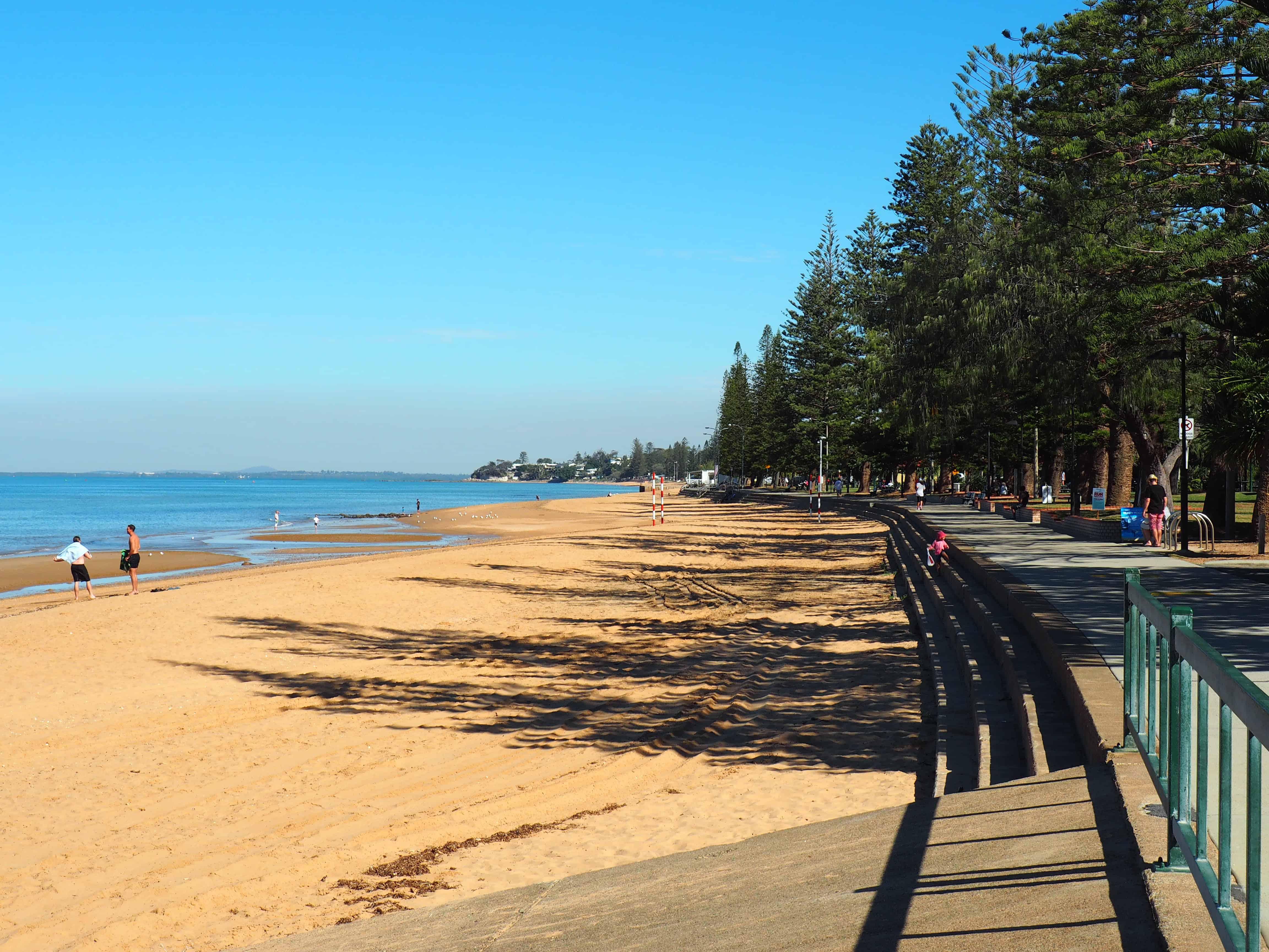 Suttons Beach Redcliff, Brisbane Australia