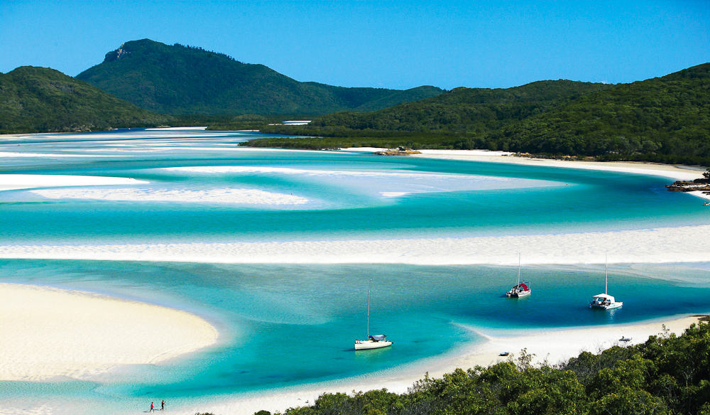 Whitehaven Beach, Whitsunday Island, Whitsunday Islands, Top 20 Beach Destinations, Best Beaches in the World