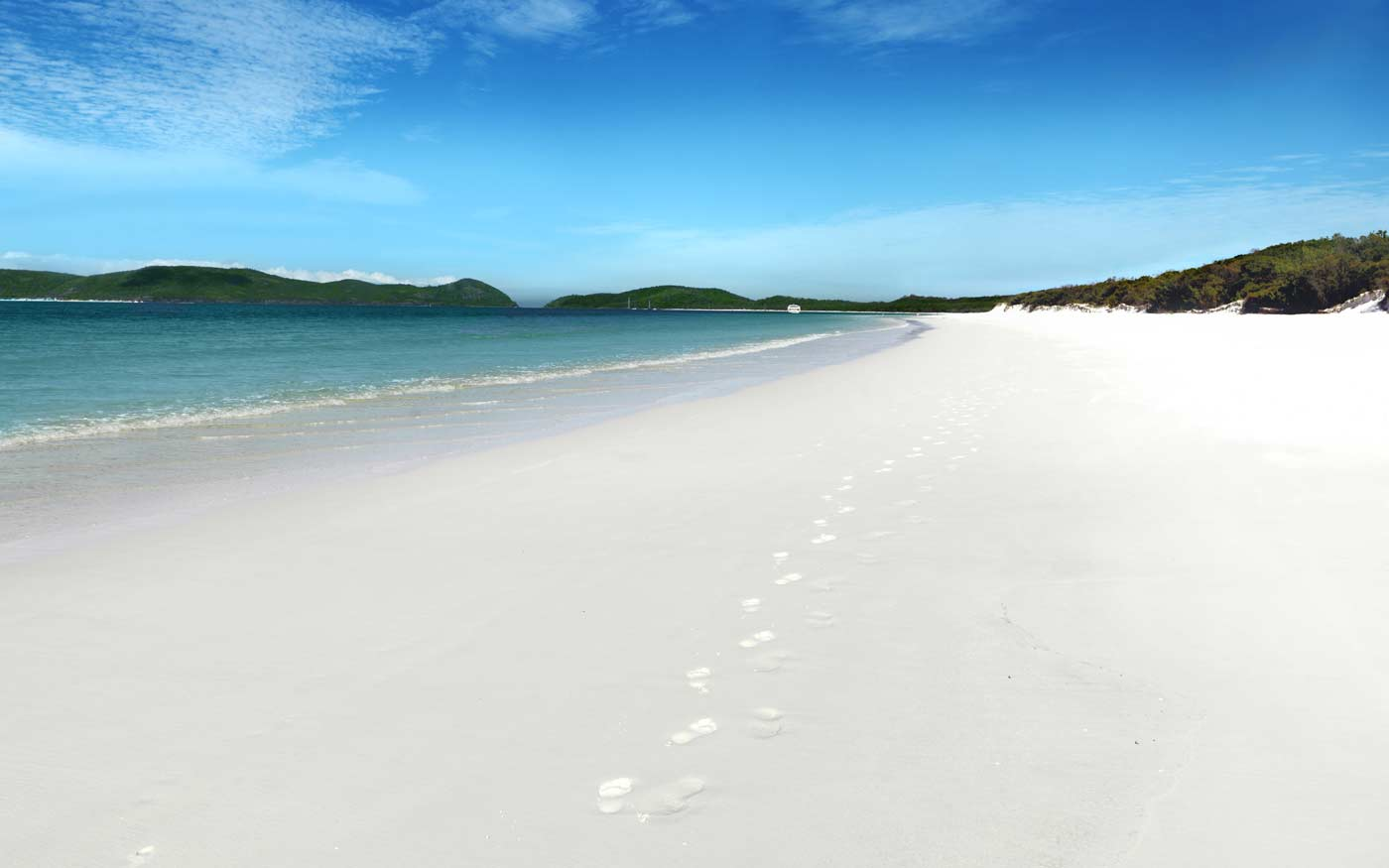 Whitehaven Beach, Whitsunday Island, Whitsunday Islands
