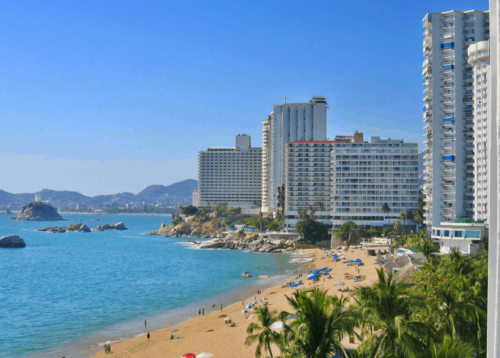 Acapulco, Mexico, best beaches of Mexico, Mexico's best beaches, Mexico Beaches