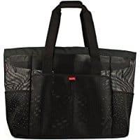 best beach bag, beach travel destinations, beach bag, best beaches, beach gear, Oahu XXL Mesh Beach Bag Tote