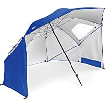 Sport-Brella Portable All-Weather and Sun Umbrella, best beach gear, beach vacations, beach travel destinations