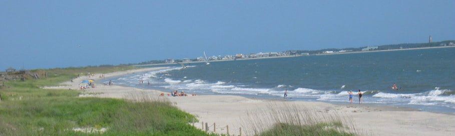 Caswell Beach, best North Carolina Beaches, North Carolina beaches, top beaches in North Carolina, the Outer Banks